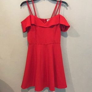 Emerald Sundae Red dress